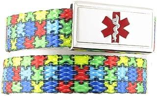 Medical Alert Bracelet | Adjustable up to 6.5