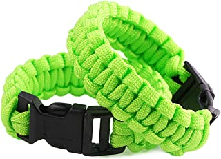 lime green paracord bracelet