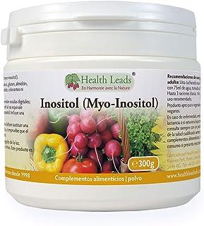 Inositol (Myo-Inositol) en polvo 300g. También llamado Vitamina B8. Alta absorción. VEGANO. Sin Estearato