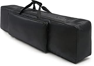 NKTM 88 Key Electric Piano Keyboard Gig Bag,Adjustable and Portable Backpack Straps(NOT FIT ALL 88-KEY KEYBOARDS) 52 x 12 x 6in