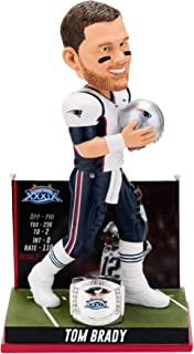 Forever Collectibles Tom Brady New England Patriots Super Bowl Special Edition - 3rd Win Bobblehead