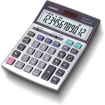 カシオ 本格実務電卓 グリーン購入法適合 テレワークの効率UP デスクタイプ 12桁 DS-12WT-N