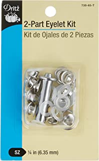 Dritz 661T Sewing Tools R Eyelet Tool-for 7//16 Inch Eyelets
