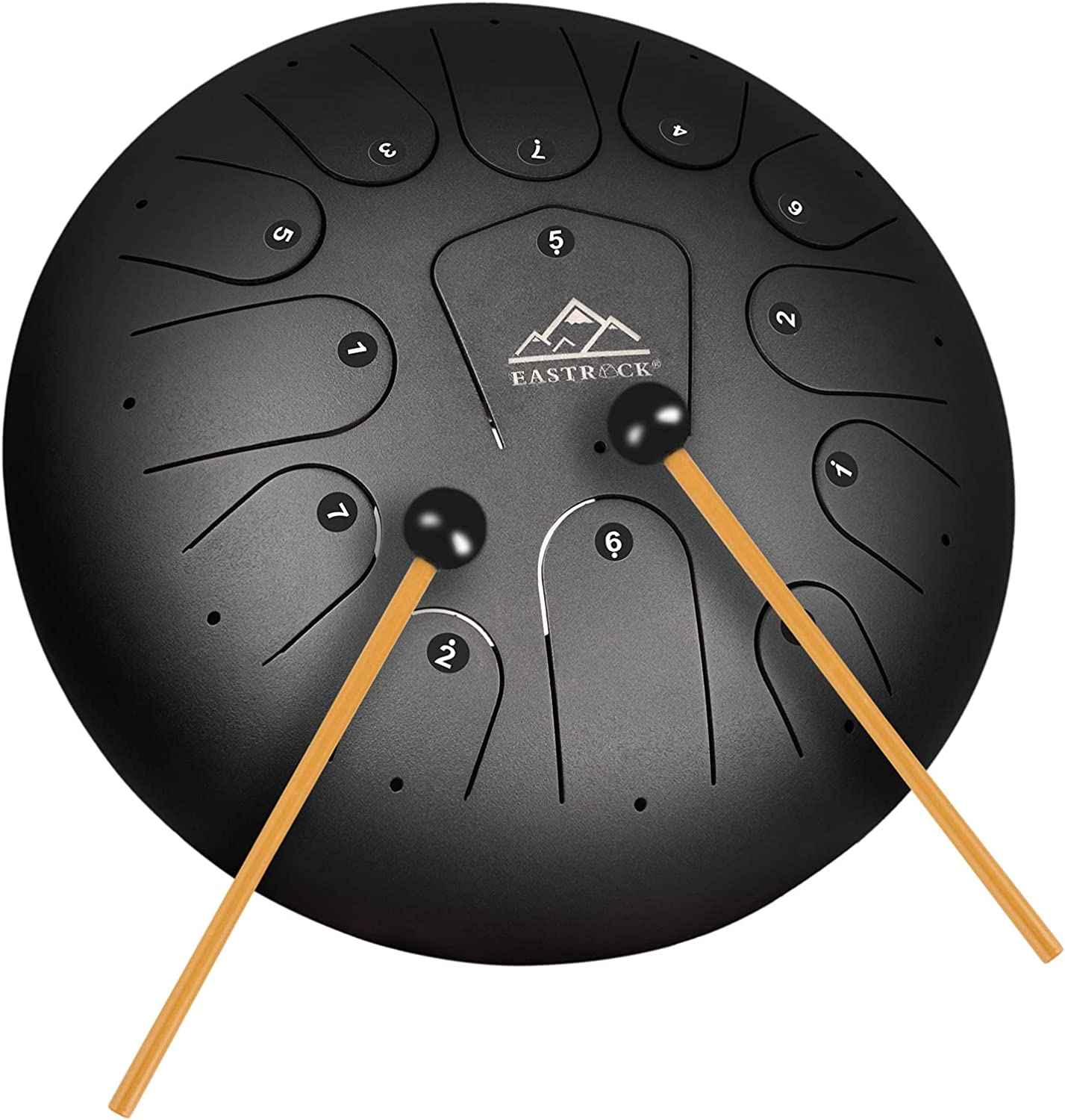 EASTROCK Steel Tongue Drum 5%OFF 13 Percussion Instrument 12 新品■送料無料■ Inch Note