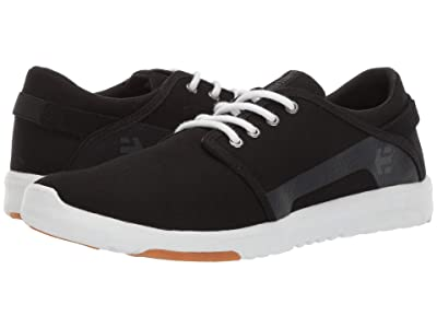 etnies Scout (Black/White/Silver) Men