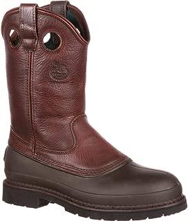 Georgia Men's Pull-On Mud Dog ST Comfort Core Work Boot
