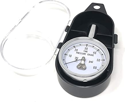Amazon.com: After Market Auto & More Tire Air Pressure Gauge up to 60 PSI with Carrying Case: Automotive