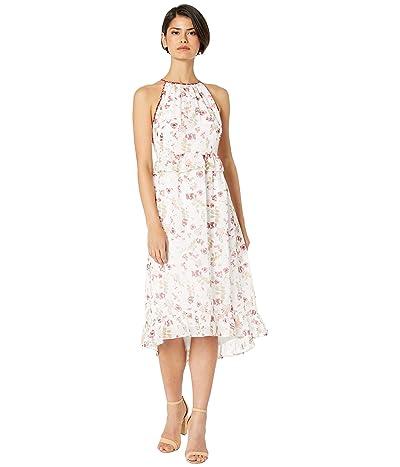 kensie Keepsake Floral Printed Dress KS5K8365 (White Combo) Women