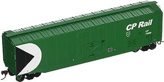 Bachmann Trains Cp Rail (Green) 50' Plug-Door Box Car-Ho Scale