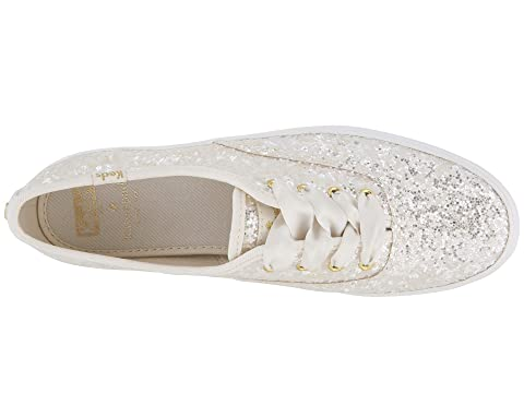 98f61a6ad98f2 Keds x kate spade new york Bridal Triple Glitter at Luxury.Zappos.com