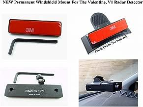 V3M Improved 3M Taped Permanent Windshield Mount for The Valentine 1 Valentine1 V1 Radar Detectors