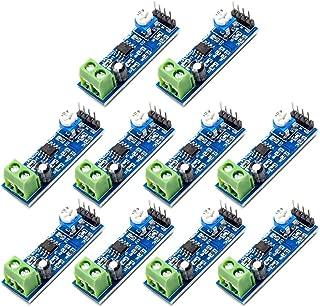 Onyehn 10pcs LM386 200 Times gain Audio Power Amplifier Module(Amplifier Board Mono Power Amplifier 5V-12V Input) for Arduino EK1236