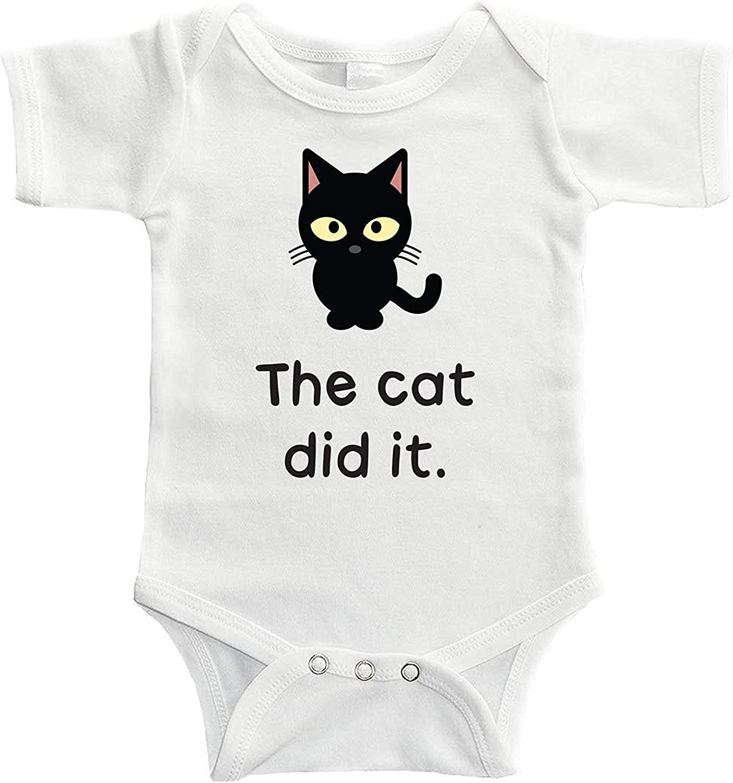 Starlight Baby The Jacksonville Mall Cat Did It trust Bodysuit