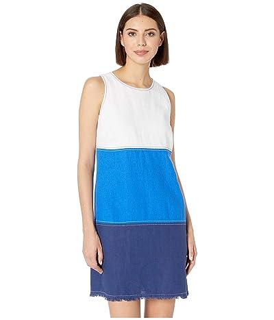 Tommy Bahama Two Palms Blocked Shift Dress (White) Women