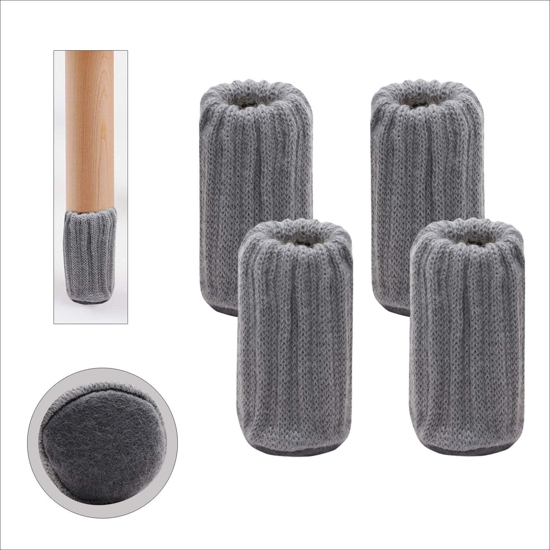 Mini Skater 4Pcs Knitted online shop unisex Chair Socks Leg Anti-Skid Elastic Furni