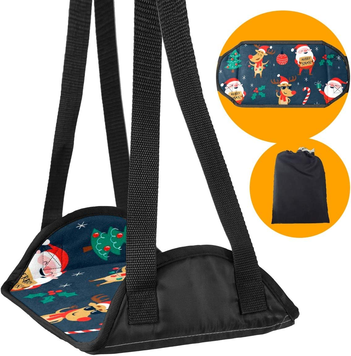 Foot Hammock Desk Footrest Adjustable Portable Comfy 1 year warranty specialty shop Hanger