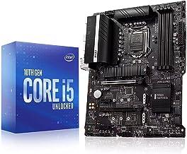 Micro Center Intel Core i5-10600K Desktop Processor 6 Cores up to 4.8 GHz Unlocked LGA1200 (Intel 400 Series chipset) 125W...