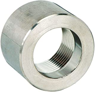Half Coupling, 3/4 In, 316 Stainless Steel