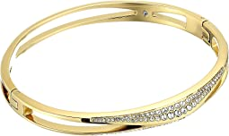 Michael Kors - Brilliance Pave Hinged Bangle Bracelet