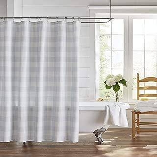 Elrene Home Fashions Farmhouse Living Buffalo Check Shower Curtain, 72