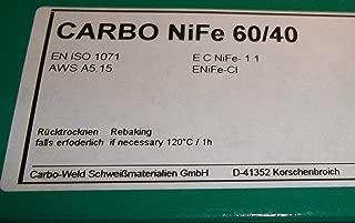 5 x de hierro fundido de electrodos de 2,5 mm para hormigón armado-soldadura
