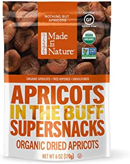 Made In Nature Organic Dried Apricots, 6 Oz