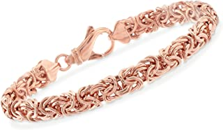 Best rose gold id bracelet Reviews