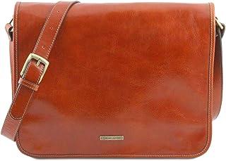 Tuscany Leather TL Messenger Borsa a tracolla 2 scomparti - Misura grande