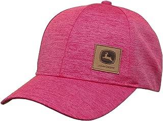 John Deere 6 Panel Cap Space Dye-Medium Pink-Os