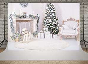 christmas white backdrop