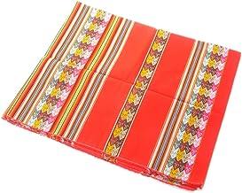 アンデス伝統織物アワヨ布/赤地 [ペルー製] 正規品新品・本格演奏用楽器