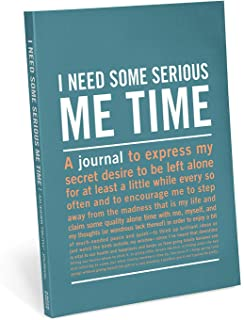 Knock Knock I Need Some Serious Me Time Inner-Truth Journal (Large, 7 x 9.5-inches)