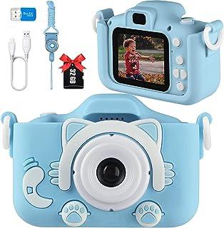 كاميرا أطفال أرنب من شركة ابدتيك جيفز، كاميرات رقمية قابلة لإعادة الشحن مع غطاء أرنب، كاميرات ألعاب للبنات من سن 5 إلى 10 ...
