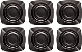 OFXDD Unbreakable Cigarette Ashtrays for Men - Pack of 6 - Outdoor Ashtray Modern Style - Metal Stainless Cigar Tray for P...