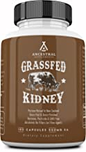 Ancestral Supplements Kidney (High in Selenium, B12, DAO) — Supports Kidney, Urinary, Thyroid, Histamine Health (180 Capsu...