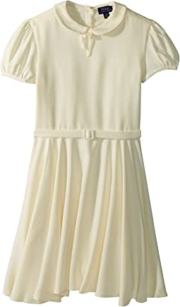 Polo Ralph Lauren Kids - Belted Fit-and-Flare Dress (Big Kids)