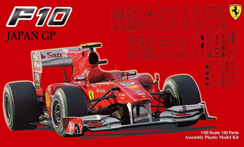Ferrari F10 Japan GP Clear Body (Model Car)