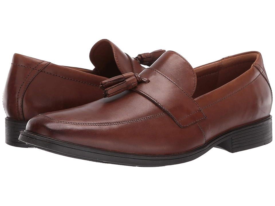 Clarks Tilden Stride (Dark Tan Leather) Men