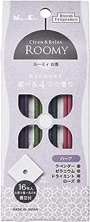 日本香堂 ROOMY C&R ハーブアソート 16本