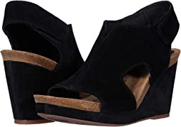 Black Cow Suede