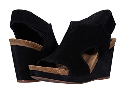 Sofft Chloee (Black Cow Suede) Women