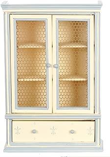 Melody Jane Dollhouse Blue Cream Dresser Miniature Shabby Chic Dining Room Furniture