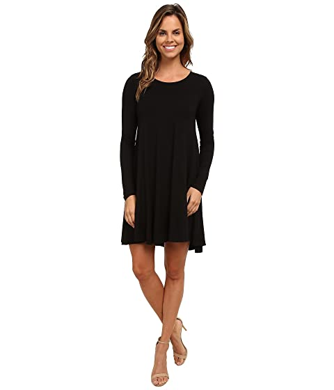Karen Kane  Swing Dress, BLACK