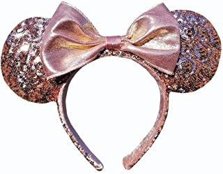 Minnie Mouse Ears Rose Gold Walt Disney World Ear Hat Headband