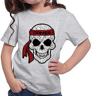 HARIZ Camiseta para niña con diseño de calavera de Alien Gamer Gamer Plus