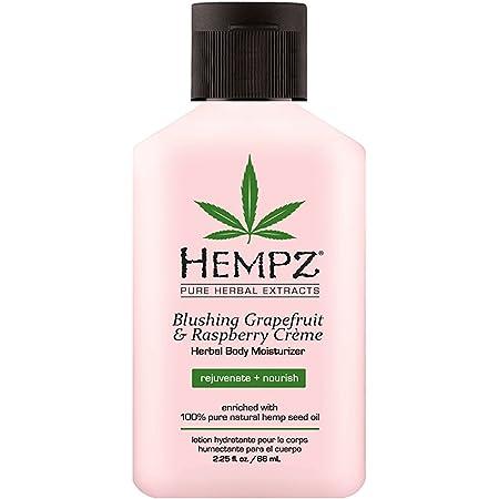 Hempz Blushing Grapefruit & Raspberry Creme Herbal Body Moisturizer Lotion - Fruit Body Cream