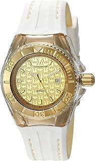 [テクノマリーン]TechnoMarine 腕時計 'Cruise' Swiss Quartz Stainless Steel and Silicone Automatic Watch, TM-115156 レディース [並行輸入品]