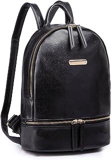 حقيبة ظهر Miss Lulu للنساء للمدرسة حقيبة كتف حقيبة سفر أنيقة من جلد PU