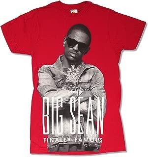 Big Sean Crest Tour Red T Shirt