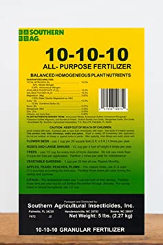 Southern Ag All Purpose Granular Fertilizer 10-10-10, 5 LB
